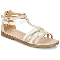 Sapatos Rapariga Sandálias Geox J S.KARLY G. D Bege