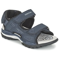Sapatos Rapaz Sandálias desportivas Geox J BOREALIS B. B Marinho