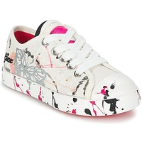 Sapatos Criança Sapatilhas Geox J CIAK G. D Branco / Rosa