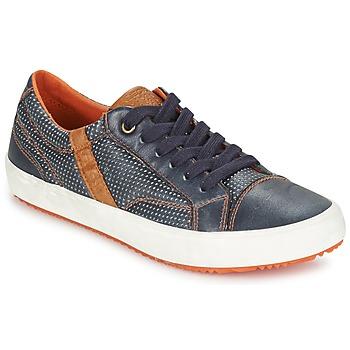 Sapatos Rapaz Sapatilhas Geox J ALONISSO B. A Marinho / Castanho