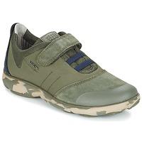Sapatos Criança Sapatilhas Geox J NEBULA B. A Militar / Navy