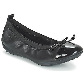 Sapatos Rapariga Sabrinas Geox J PIUMA BAL F Preto