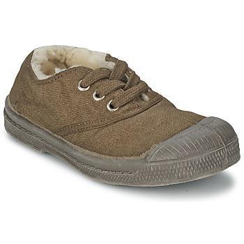 Sapatos Criança Sapatilhas Bensimon TENNIS FOURREES Castanho