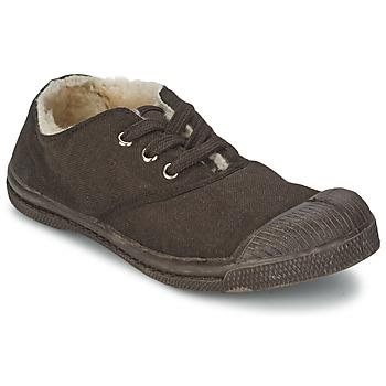 Sapatos Criança Sapatilhas Bensimon TENNIS FOURREES Chocolate