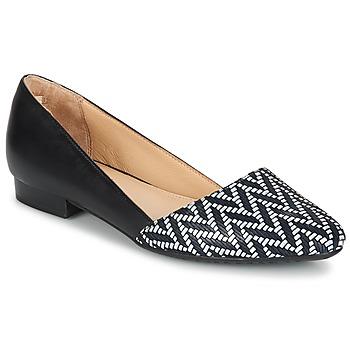 Sapatos Mulher Sabrinas Hush puppies JOVANNA Preto / Branco