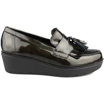 Sapatos Mulher Mocassins Kroc MOCASIN CON CUÑA VERDE