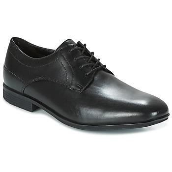Sapatos Homem Sapatos Rockport SC PLAIN TOE Preto
