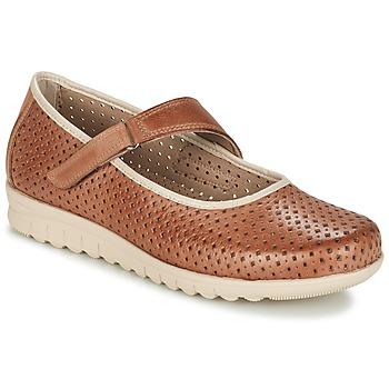 Sapatos Mulher Sabrinas Pitillos FARCO Castanho