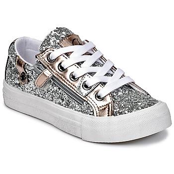 Sapatos Rapariga Sapatilhas Kaporal AMBERA Prata