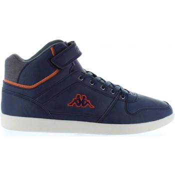 Sapatos Rapaz Sapatilhas de cano-alto Kappa 303JS30 USSEL Azul