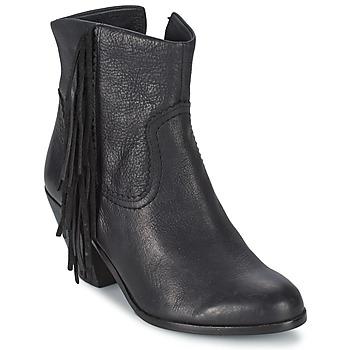Sapatos Mulher Botins Sam Edelman LOUIE Preto