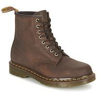 Sapatos Botas baixas Dr Martens 1460 Castanho / Escuro