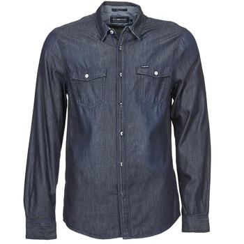 Textil Homem Camisas mangas comprida Energie VETTEL Azul