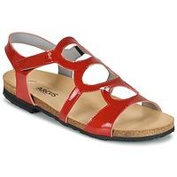 Sapatos Mulher Sandálias Arcus BERNER Vermelho