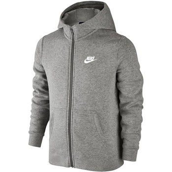 Textil Criança Sweats Nike SW Hoodie FZ Club Junior 805499-063
