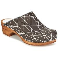 Sapatos Mulher Tamancos Sanita ARLA Antracite