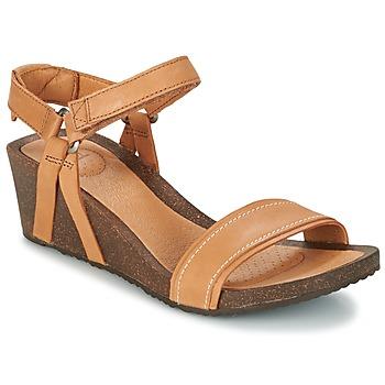 Sapatos Mulher Sandálias Teva YSIDRO STITCH WEDGE Conhaque
