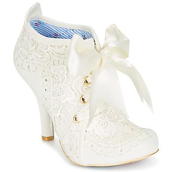 Sapatos Mulher Botas baixas Irregular Choice ABIGAIL'S THIRD PARTY Creme