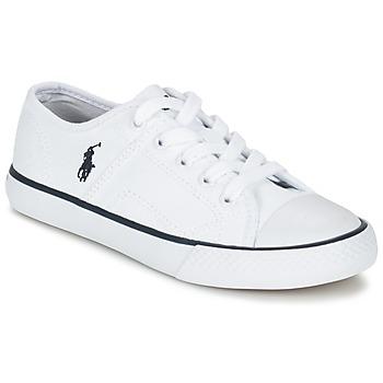 Sapatos Criança Sapatilhas Ralph Lauren DYLAND Branco