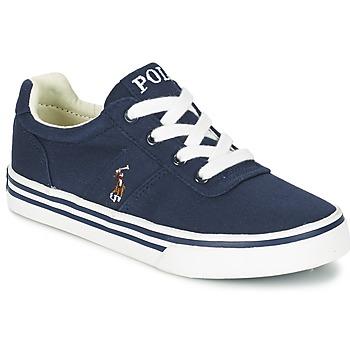 Sapatos Rapaz Sapatilhas Polo Ralph Lauren HANFORD Marinho
