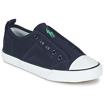 Sapatos Rapaz Sapatilhas Ralph Lauren RYLAND Marinho