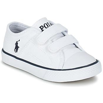 Sapatos Criança Sapatilhas Ralph Lauren DYLAND EZ Branco