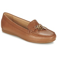 Sapatos Mulher Mocassins MICHAEL Michael Kors SUKI MOC Castanho