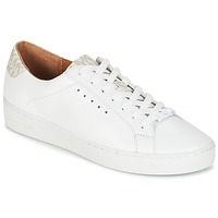 Sapatos Mulher Sapatilhas MICHAEL Michael Kors IRVING LACE UP Branco