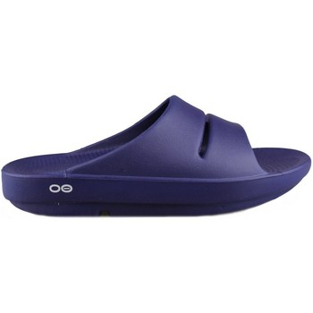 Sapatos Mulher Chinelos Oofos OOAHH NAVY
