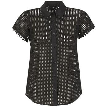 Textil Mulher camisas Love Moschino WCC0480 Preto