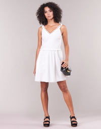 Textil Mulher Vestidos curtos Love Moschino WVF3880 Branco