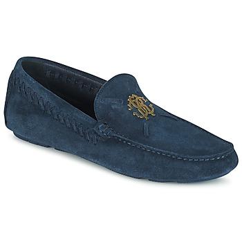 Sapatos Homem Mocassins Roberto Cavalli 2022A Azul