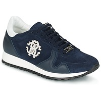 Sapatos Homem Sapatilhas Roberto Cavalli 2058A Marinho