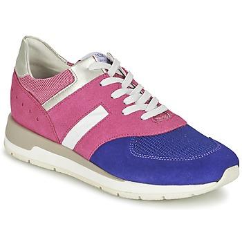 Sapatos Mulher Sapatilhas Geox SHAHIRA A Rosa / Violeta