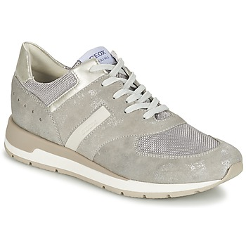 Sapatos Mulher Sapatilhas Geox SHAHIRA A Cinza