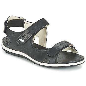 Sapatos Mulher Sandálias desportivas Geox D SAND.VEGA A Preto