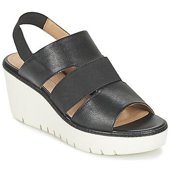 Sapatos Mulher Sandálias Geox D DOMEZIA B Preto