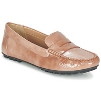 Sapatos Mulher Mocassins Geox D LEELYAN B Bege