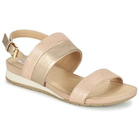 Sapatos Mulher Sandálias Geox D FORMOSA C Rosa / Ouro