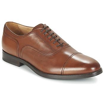 Sapatos Homem Richelieu Geox U HAMPSTEAD C Conhaque