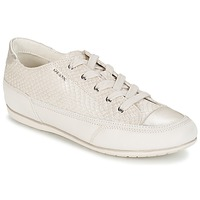 Sapatos Mulher Sapatilhas Geox NEW MOENA Branco