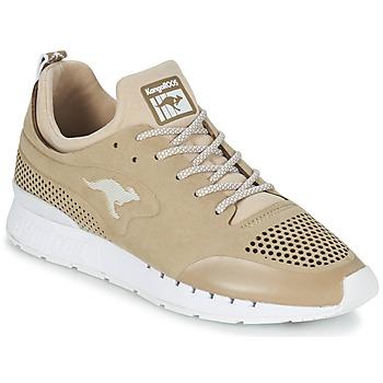 Sapatos Sapatilhas Kangaroos COIL 2.0 MONO Bege