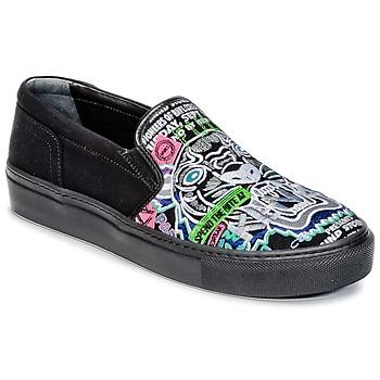 Sapatos Mulher Slip on Kenzo K-SKATE Preto