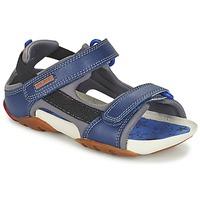 Sapatos Rapaz Sandálias Camper OUS Marinho