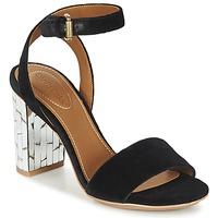 Sapatos Mulher Sandálias See by Chloé SB28001 Preto / Veludo