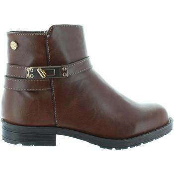 Sapatos Rapariga Botins Xti 53835 Marr?n