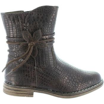 Sapatos Rapariga Botas Xti 54055 Marr?n