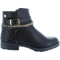 Sapatos Rapariga Botins Xti 53827 Negro