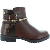 Sapatos Rapariga Botins Xti 53827 Marr?n