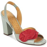 Sapatos Mulher Sandálias Chie Mihara ANAMI Cinza / Vermelho